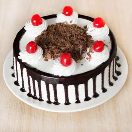 Half Kg Black Forest Cake Flower Delivery Online India S Leading